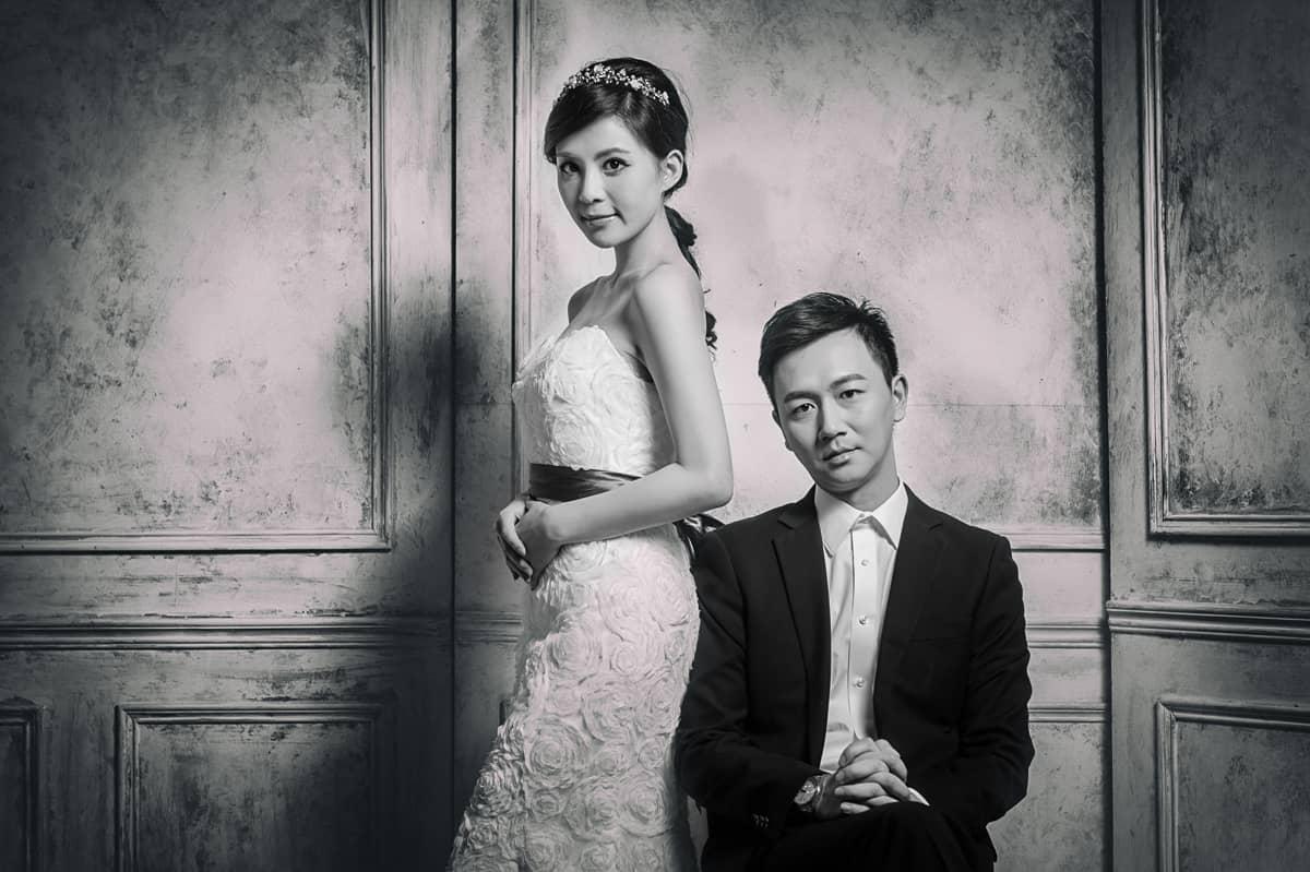 自助婚紗;棚拍;婚攝;婚禮照片