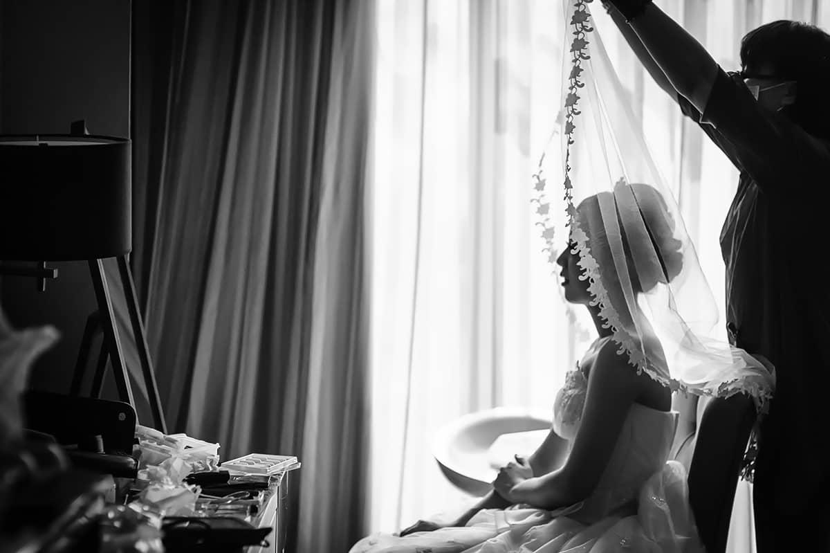婚攝;黑白照片;婚禮;大直典華;anker