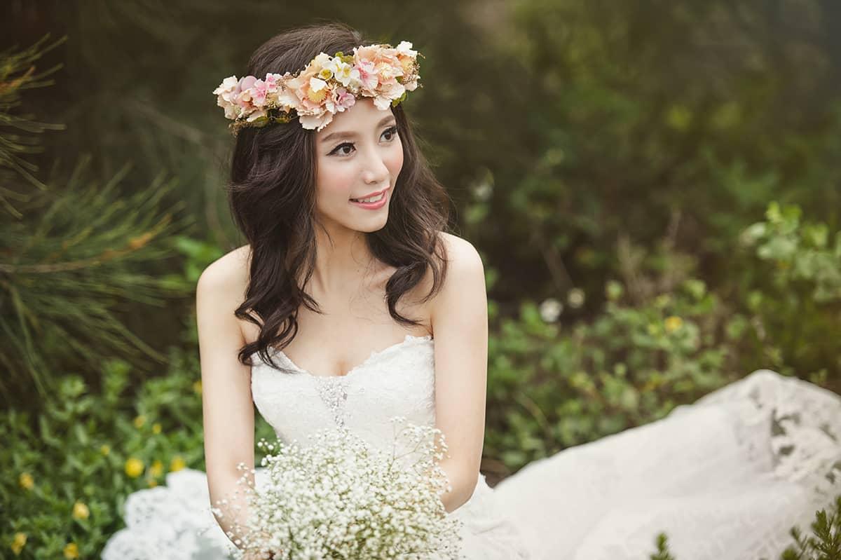 婚紗,自助婚紗,婚紗工作室,花圈,唯美婚紗,浪漫婚紗,白紗,婚攝,森林婚紗