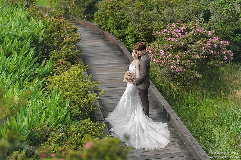 韓風婚紗,冷水坑婚紗,陽明山婚紗景點