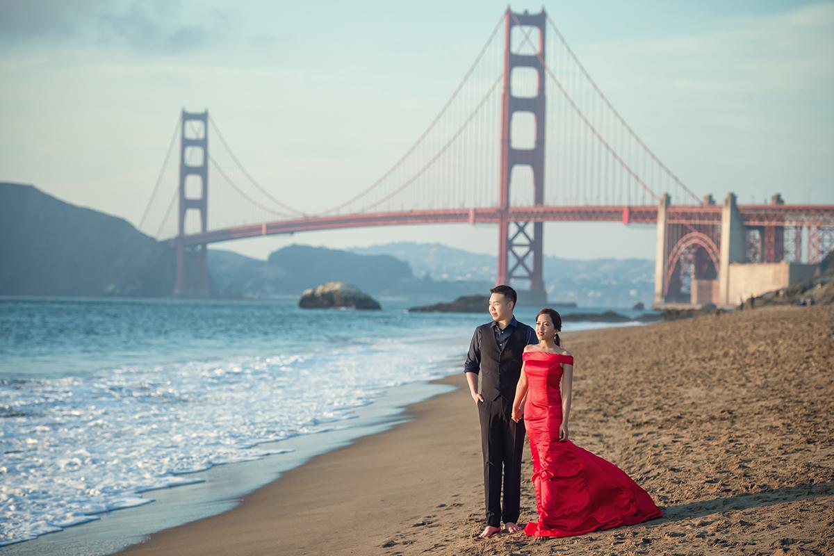 舊金山婚紗,金門大橋,婚攝,美國婚紗